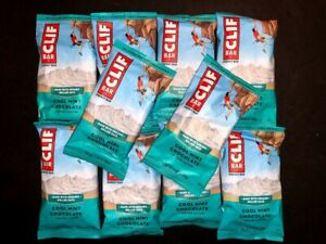 40 Cool Mint Chocolate - CLIF - ENERGY Organic Rolled Oats Protein Bars