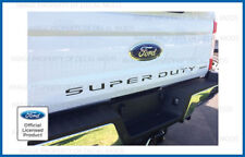 2017 Ford F250 Super Duty Tailgate Letters Decals Stickers MATTE BLACK blackout