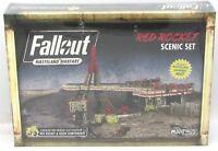 Fallout Wasteland Warfare MUH051233 Red Rocket Scenic Set (Terrain + Mat) NIB
