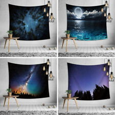 Night Starry Sky Tapestry Wall Hanging Blanket Mat Background Cloth Decoration