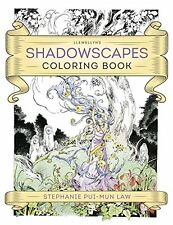 Shadowscapes Adult Coloring Book ~ Wiccan Pagan Supply