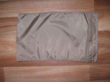 eagle industries nylon hook loop closure flat pouch khaki coyote tan sleeve 14x8