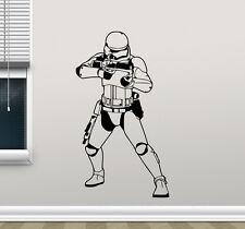 Stormtrooper Wall Decal Star Wars Soldier Vinyl Sticker Art Decor Mural 79crt