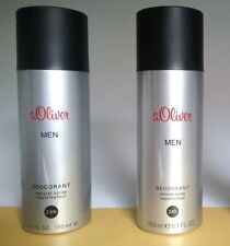 s.Oliver MEN Deodorant Natural Spray  2 x 150 ml  (EUR 5,97 / 100 ml)