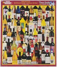 Wine Bottle Jigsaw Puzzle Made USA White Mountain 1000 pc Item 10585 Bar Wino
