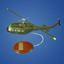 Mastercraft Collection UH-1D Iroquois 1/57 Military Wood Model Helicopter