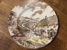 W H Grindley 9 inch plate Quiet Day