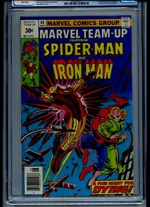 Marvel Team-Up #48 CGC 9.6 White Pages 30 Cent Variant