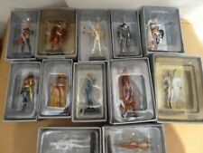 12 X Eaglemoss Marvel DC  Collectable Metal Figures Boxed