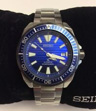 SEIKO PROSPEX Save The Ocean Blue Samurai 200M Diver's Automatic WATCH SRPC93