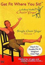 NEW Lakshmi Voelker Chair Yoga, Single Chair Yoga Vol. 1 DVD Free Shipping
