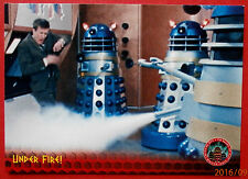 DR WHO AND THE DALEKS - Card #12 - Under Fire - Unstoppable Cards 2014