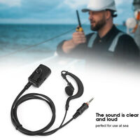 Earhook Earpiece Two-Way Radio Earphone IP54 Waterproof for VOX ICOM M33 T50