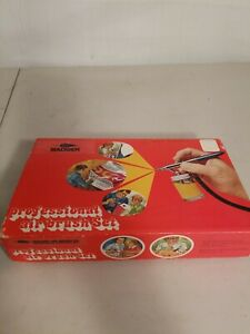 Badger Professional Air Brush Set Model 150 PK Vintage