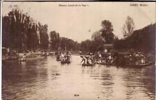 POST CARD   MIRET  MEXICO PHOTO  CANAL DE LA VIGA  VIAG 1909