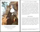 HOLY CARD SANTINO IMAGE PIEUSE - S. GIULIANA DEI FALCONIERI, dei servi di Maria