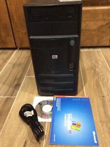 HP D220MT Business Workstation Win XP Pro, Serial, Excellent Condition