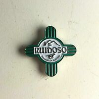 Vtg. Village Of Ruidoso House Mout Skiing New Mexico Cross