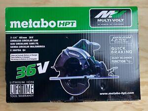 Metabo HPT Hitachi C3607DAQ4M Cordless 36v 7-1/4-in MultiVolt Circular Saw