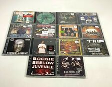 [14] CDs LOT - Master P, Juvenile, Beelow | NEW ORLEANS Rap Hip Hop 90s Albums
