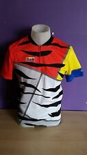 Look France vintage retro cycling jersey NOS short sleeve La Vie Claire size M