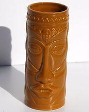 Cost Plus World Market Orange Tiki Mug