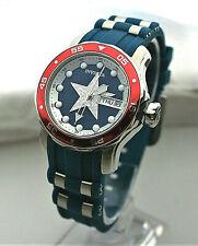 Invicta Marvel LE Captain America Women's Quartz 38mm Watch 25704 #04 / 3000