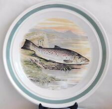 Portmeirion The Compleat Angler ~ British Fishes ~ GREAT LAKE TROUT Dinner Plate