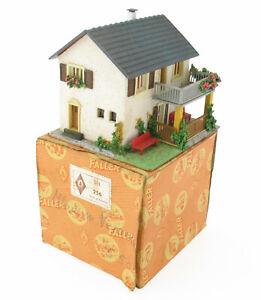 Faller 256 - Haus mit Veranda - mit OVP - H0 Eisenbahn Holz / Kunstoff Haus
