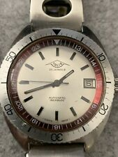 Vintage Swiss Made Talis Diver Style Watch 25 Jewels