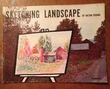 Sketching Landscape By Victor Perard 1957 Pitman 25