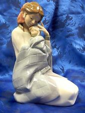MY BABY - MOTHER AND CHILD 2015 FIGURINE NAO BY LLADRO  #525