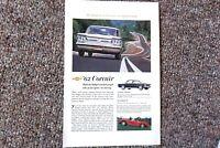 1962 Chevrolet Corvair Monza Vintage Original Print Ad GM Chevy Corvette