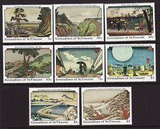 Grenadines of St. Vincent Scotts #633-40 plus 641 sheet, MNH VF