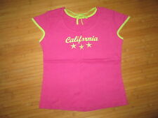 Tee-shirt rose à motif,MC,T10/12ans,marque C&A,en TBE