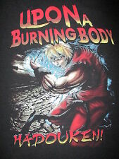 UPON A BURNING BODY T SHIRT Hadouken Texas Death Heavy Metal Band Concert Tour M