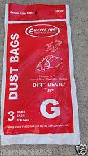 vacuum cleaner bag bags Hand Vac Type G fi Dirt Devil 3010347001