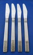 MSI DANIKA Japan Solid Handle Dinner Knives Stainless Flatware Set Of 4