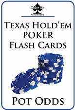 Color Up POKER FLASH CARDS: POT ODDS. Learn how to win at Texas Hold'em!