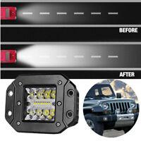 1 Pcs 120 W Waterproof Combo Beam Pattern Spot &Flood Embedded LED Work Light
