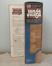 JENGA ~ Vintage 1986 Game with Box by Milton Bradley