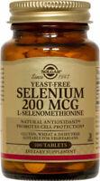 Solgar Yeast-Free Selenium 200 mcg Tablets 100ct