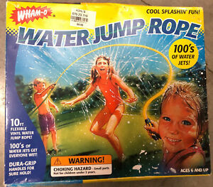 Rare Vintage *NEW* 1998 Wham-O Water Jump Rope 10 Foot Summer Pool Sports Toy