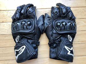 Alpinestars GP Plus Men's Leather Motorcycle Gloves Black Size XL