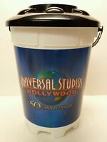 """8-1/4"""" Universal Studios Hollywood 50th Anniversary Popcorn Souvenir Container"""