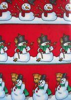 Yule Tie Greetings Hallmark Snowmen Tie Novelty Mens Necktie Snowman