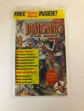 Dinosaurs for Hire #8 Comic. Sealed w/ Skybox Skycap