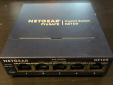 NETGEAR ProSafe GS105 5-port Gigabit Desktop Switch 10/100/1000 Mbps