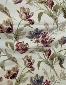 Laura Ashley curtains  Gosford Cranberry  223 W X 229 L cm