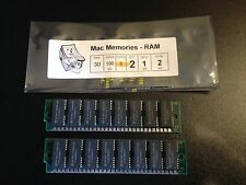 2x 1MB 30-Pin 100ns Non-Parity FPM SIMMs CLASSIC LC RAM Memory Apple Macintosh